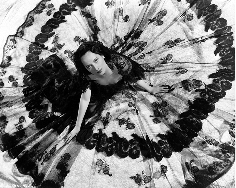 """All I really want to do is enjoy myself quickly before I die."" -- Merle Oberon (Bizarre Los Angeles)"