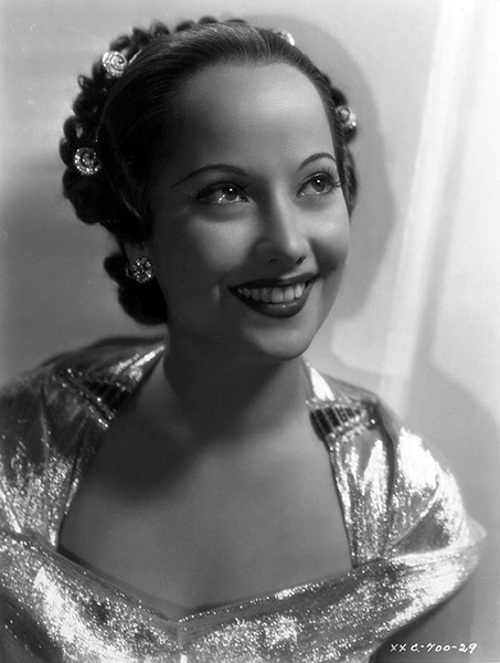 Merle Oberon in 1934. Bizarre Los Angeles
