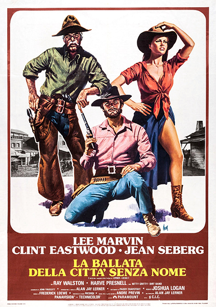 Lee Marvin Clint Eastwood Paint Your Wagon