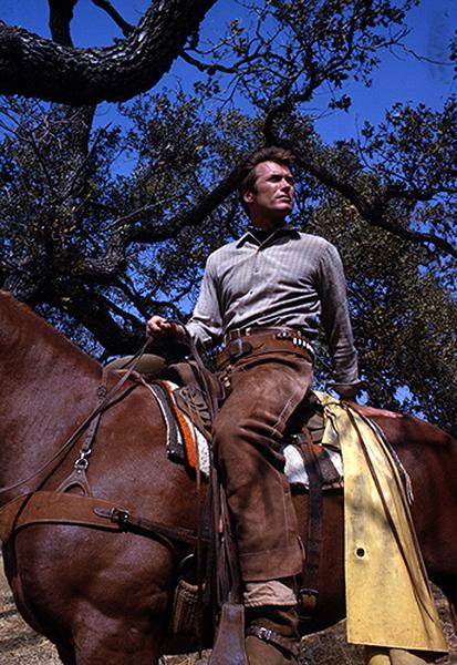 Clint Eastwood Rowdy Yates Rawhide