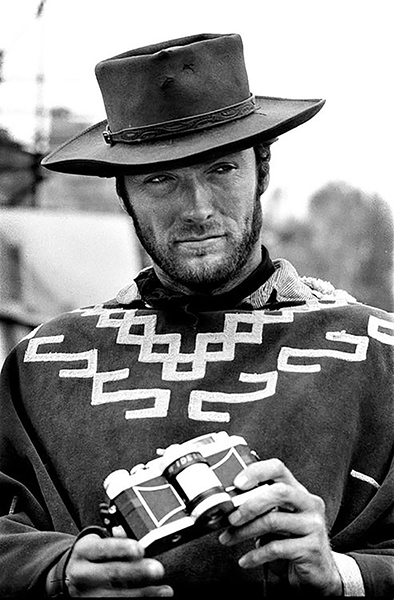 Clint Eastwood Man with no name