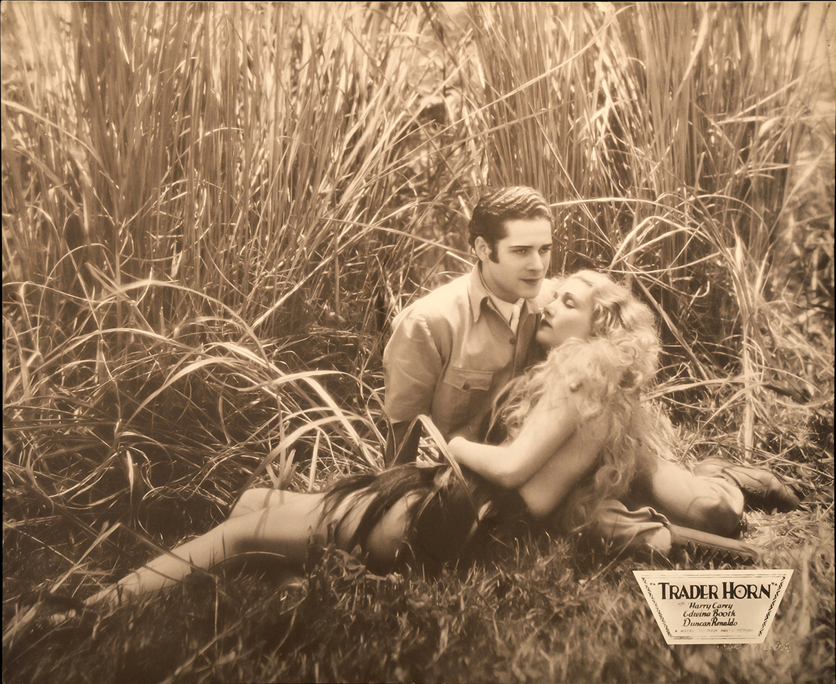 "Edwina Booth and Duncan Renaldo in ""Trader Horn"" (Bizarre Los Angeles)"