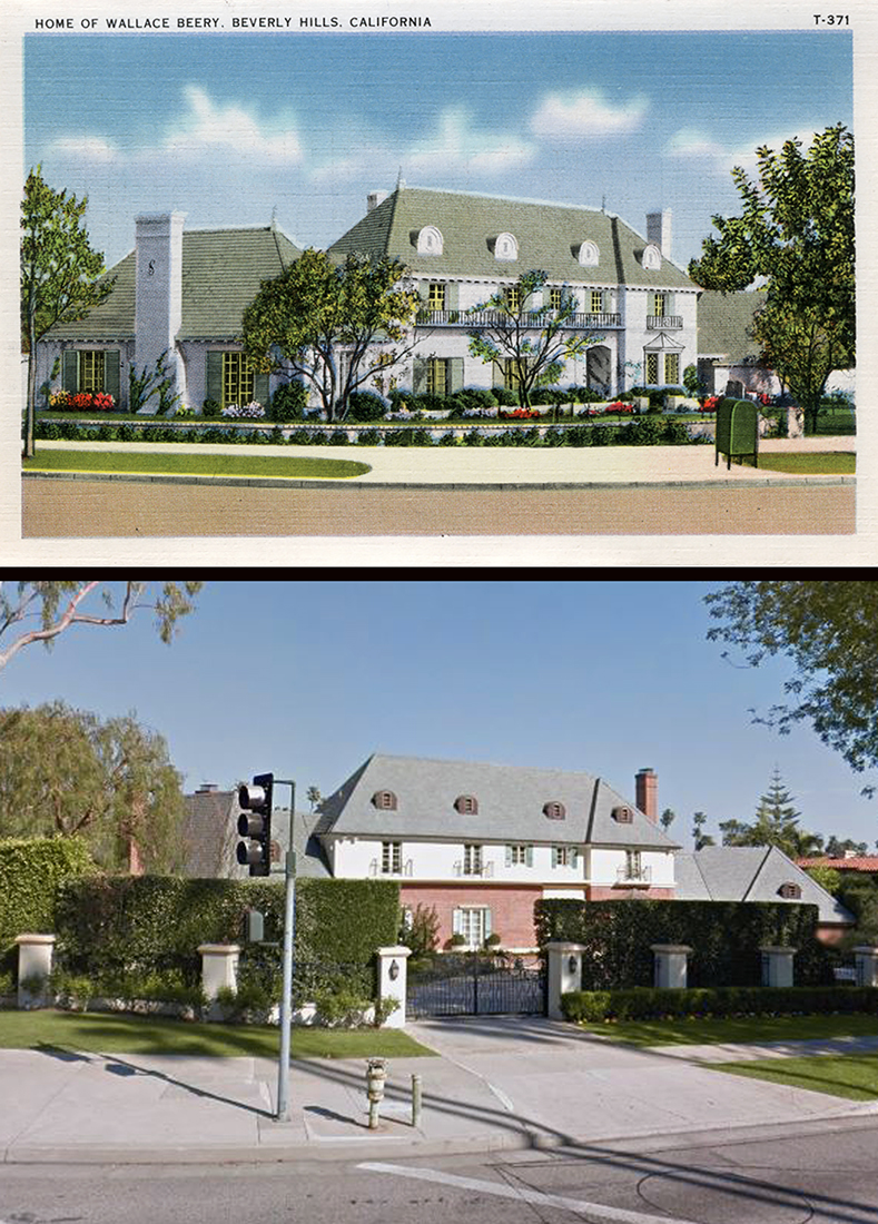 Wallace Beery's former address at 816 N. Alpine Drive, Beverly Hills