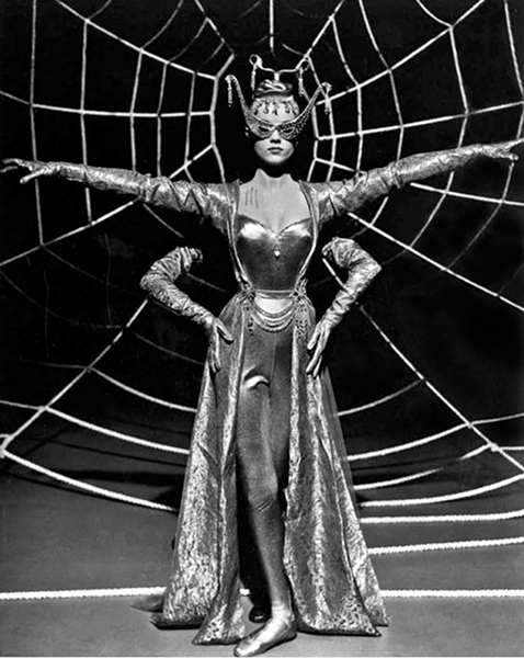 Anne Francis Spider woman