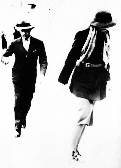 Leopold Stokowski and Greta Garbo in Italy, circa 1938.