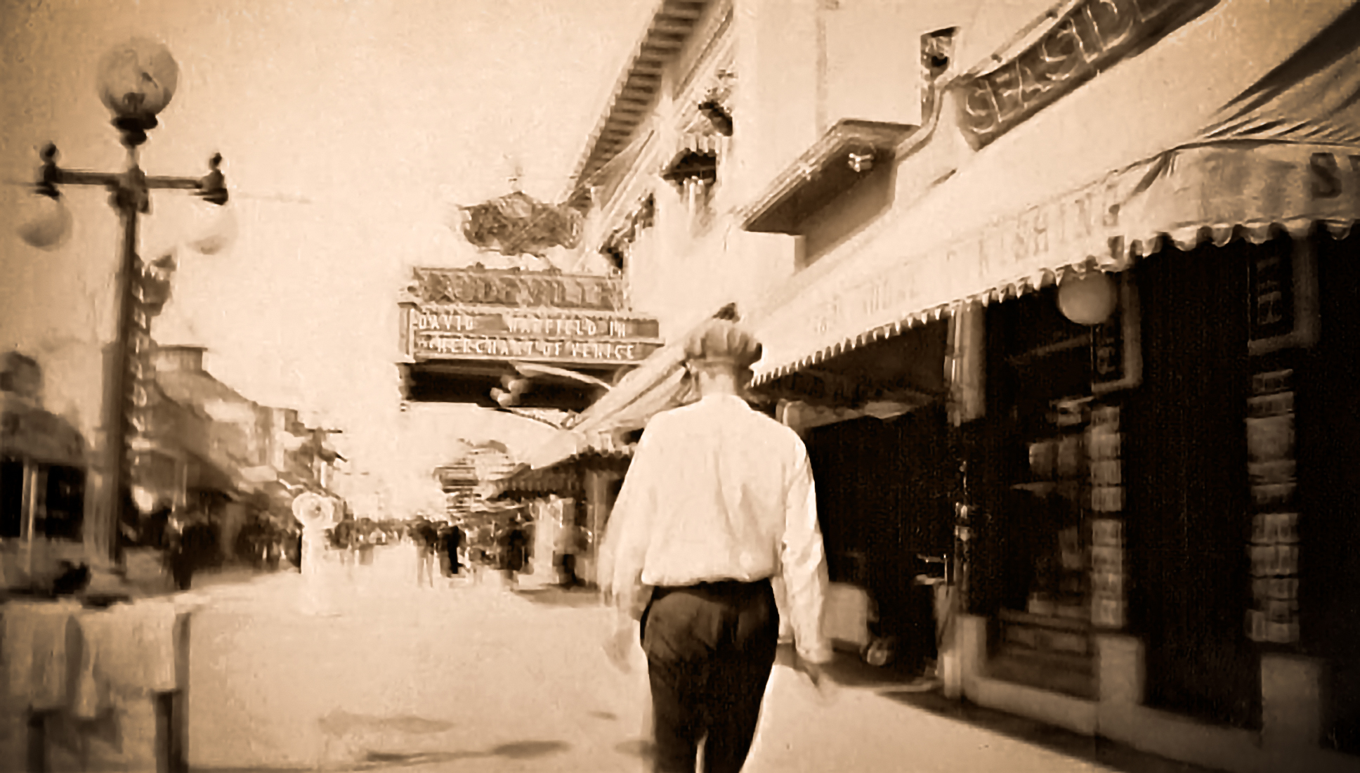 Strand Theatre Pike Ave Long Beach 1924