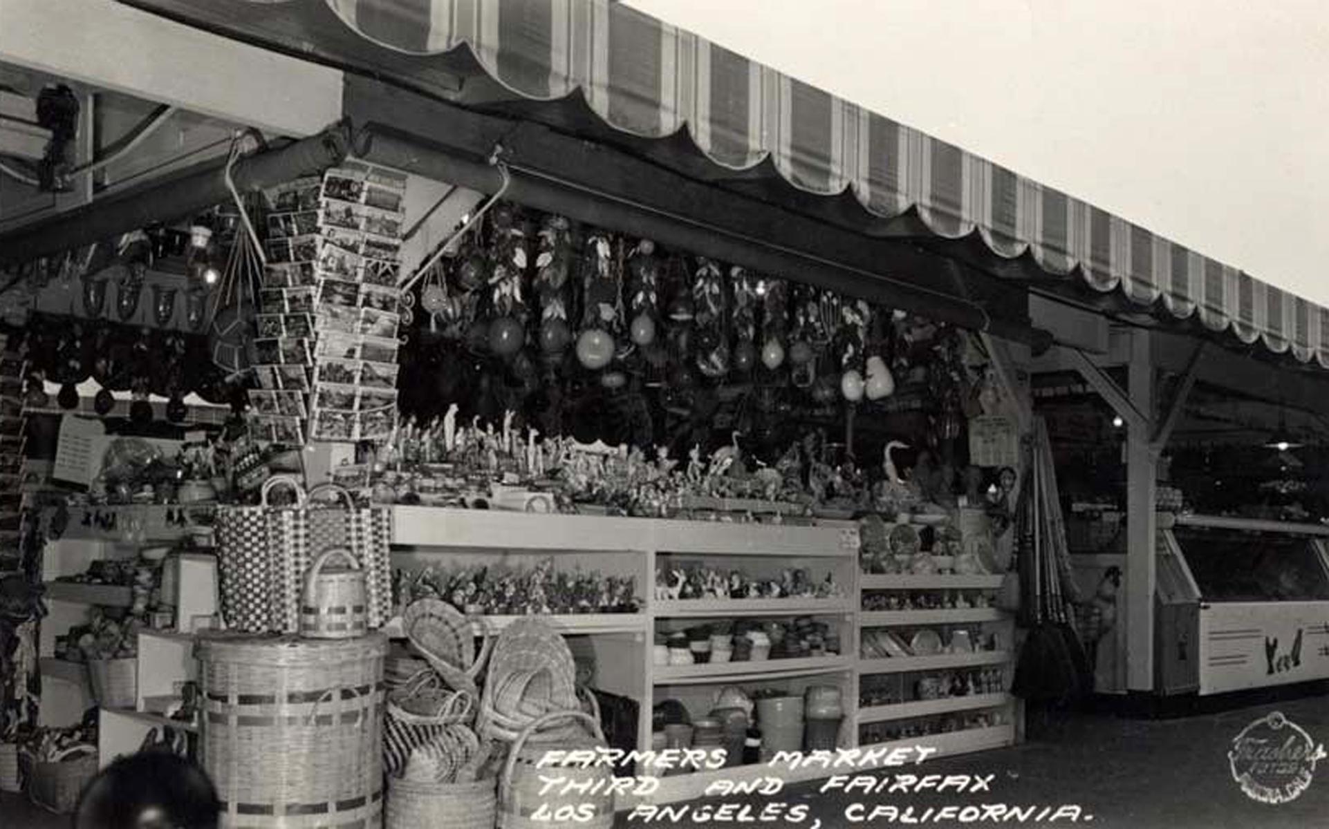 Farmers Market 1947