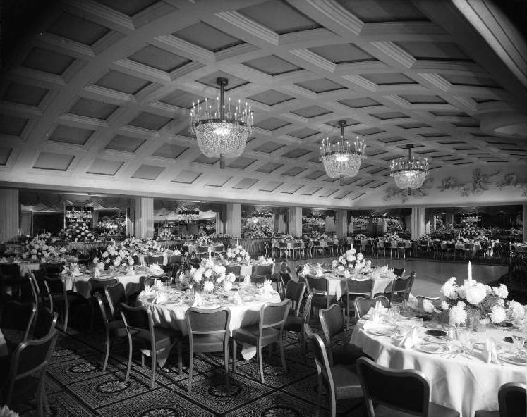The Embassy Room. Undated. Photographer: Maynard L. Parker. (Bizarre Los Angeles)