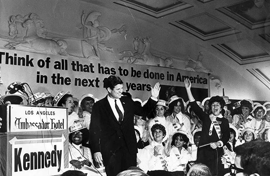Ted Kennedy Ambassador Hotel 1968