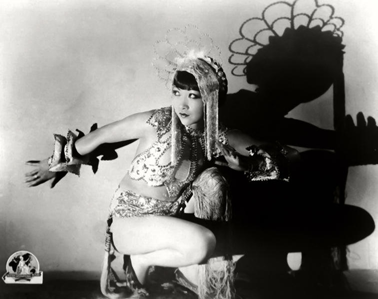 """Life cannot stand still. One must progress but one must not tell their plans. I never speak of what I am going to do. Perhaps it is superstition."" -- Anna May Wong (Bizarre Los Angeles)"
