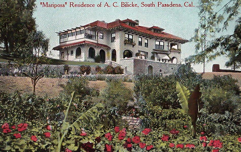 The home of A.C. Bilicke (Bizarre Los Angeles)