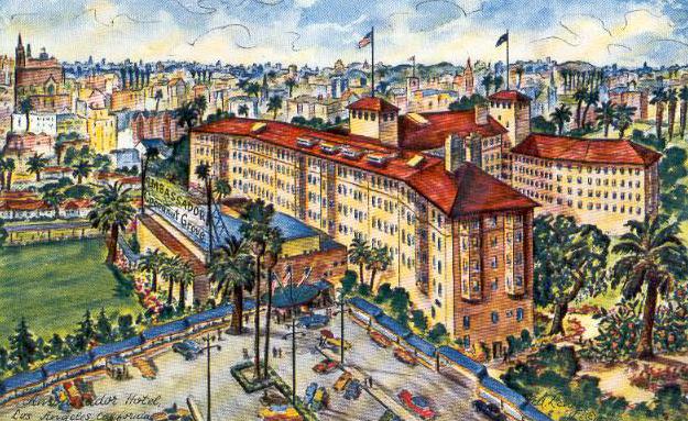 The Los Angeles Ambassador Hotel (Bizarre Los Angeles)