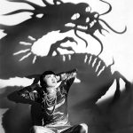 Anna May Wong with Dragon Shadow (Bizarre Los Angeles)