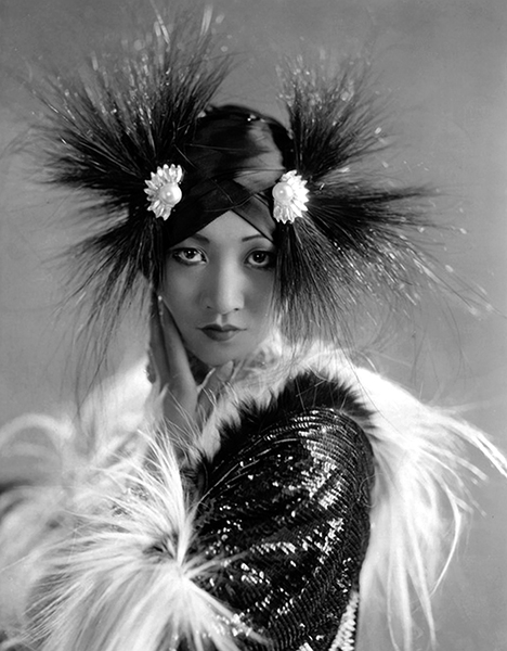 """It's a pretty sad situation to be rejected by the Chinese because I am too American."" – Anna May Wong, who was born in Los Angeles in 1905. (Bizarre Los Angeles)"