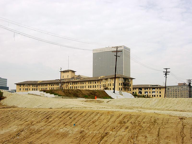 Demolition of the Los Angeles Ambassador Hotel begins in 2005. Bizarre Los Angeles