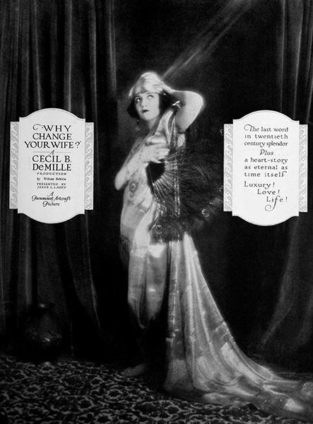 "Bebe Daniels in ""Why Change Your Wife?"" (1920). Bizarre Los Angeles"