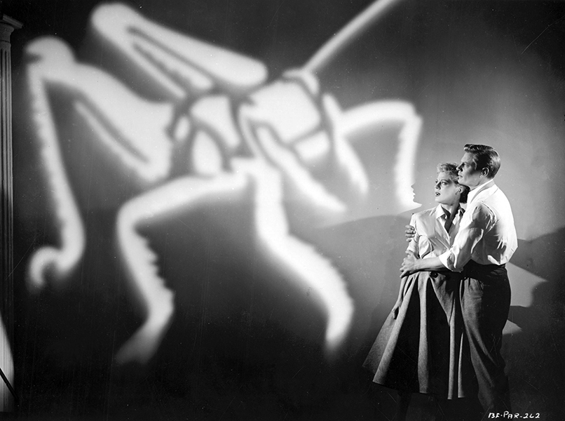 """Where do I get off asking the Regular Army for help with a bunch of oversize grasshoppers?"" -- line from Beginning of the End, starring Peggy Castle and Peter Graves (Bizarre Los Angeles)"