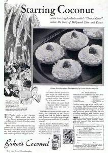 Cocoanut Grove Recipe (Bizarre Los Angeles)