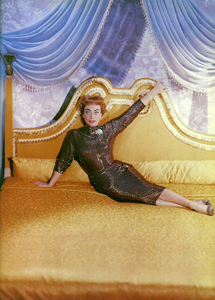 "Joan Crawford in ""Queen Bee"" (Bizarre Los Angeles)"