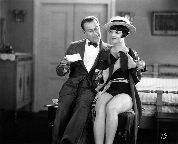 "Ford Sterling and Louise Brooks in ""The American Venus"" (1926) Bizarre Los Angeles"