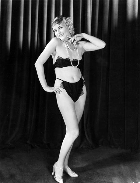 Jeanette Loff in 1934. (Bizarre Los Angeles)
