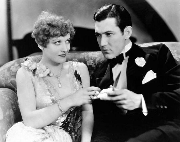 "Joan Crawford and Johnny Mack Brown in ""Our Dancing Daughters"" (1928). Bizarre Los Angeles"