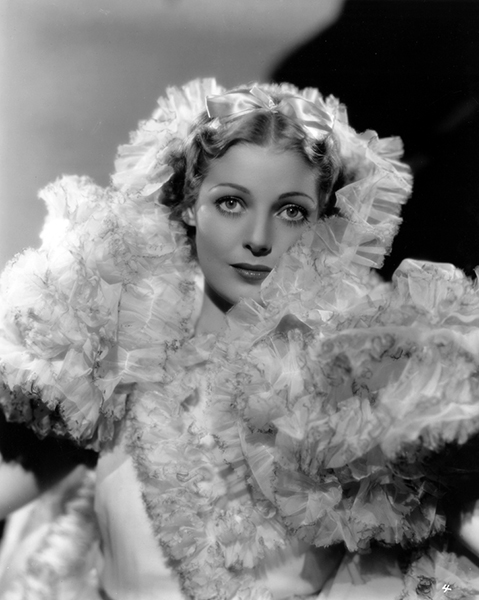 Loretta Young in 1934 (Bizarre Los Angeles)