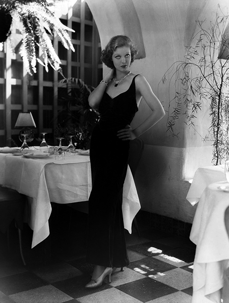 Loretta Young at the Los Angeles Ambassador Hotel in 1931. Bizarre Los Angeles