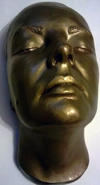 Elizabeth Taylor Life Mask