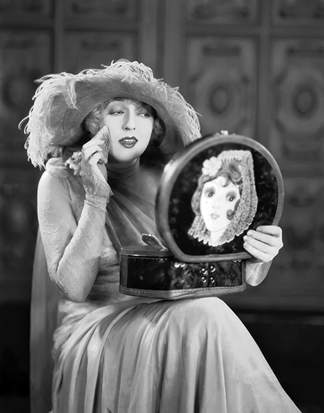 """""""Glamour, luxury, flaming beauty serve the purpose of taking people out of themselves and of making them forget, for a moment, real life and its cars. This, I think, is why my pictures are liked."""" -- Mae Murray (Bizarre Los Angeles)"""