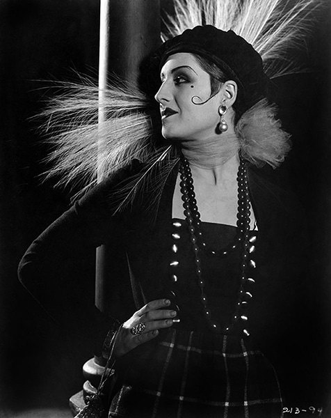"""Norma Shearer in """"Lady of the Night"""" (1925) -- Bizarre Los Angeles"""