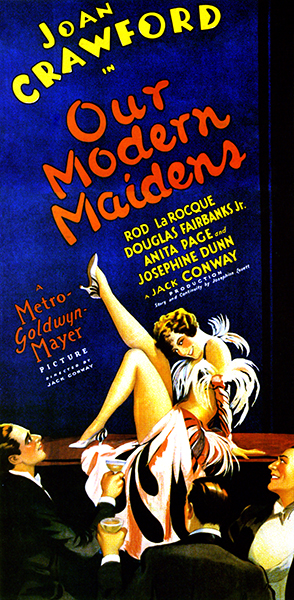 Our Modern Maidens poster (Bizarre Los Angeles)