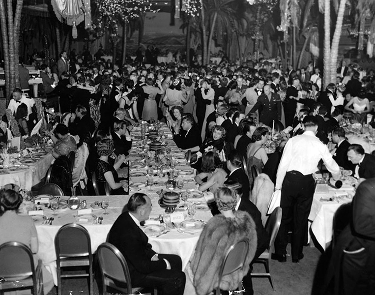 Ambassador Hotel Cocoanut Grove 1942