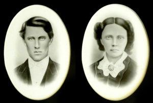 1880s couple Los Angeles