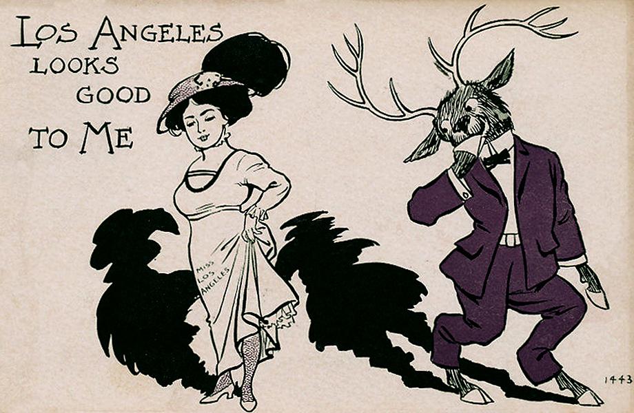 Elks Club Postcard