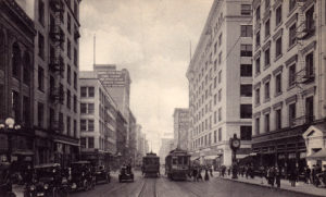 1910s Los Angeles California City Street View South