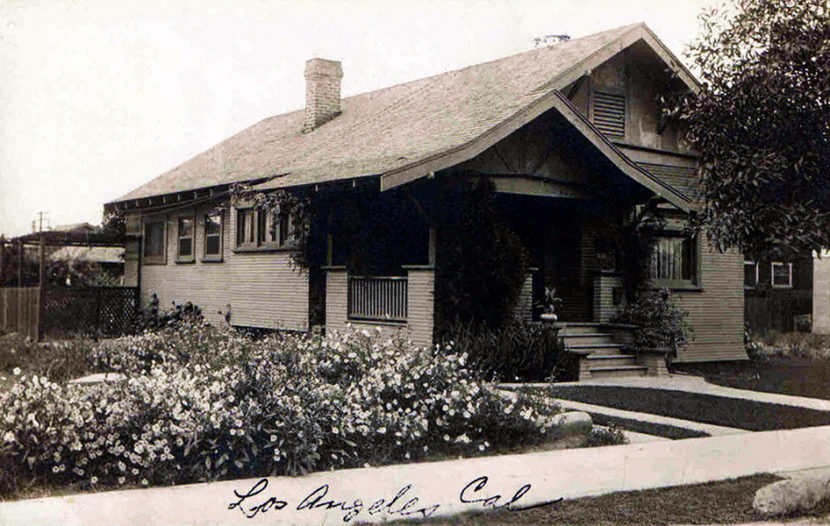 Los Angeles homes 1912