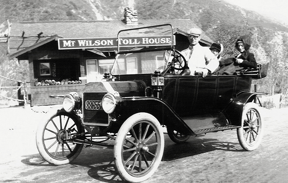 1914 Photo, Model T Touring Car MOUNT WILSON TOLL HOUSE
