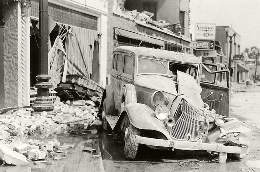Long Beach earthquake 1933