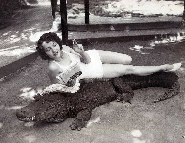 California Alligator Farm 1933