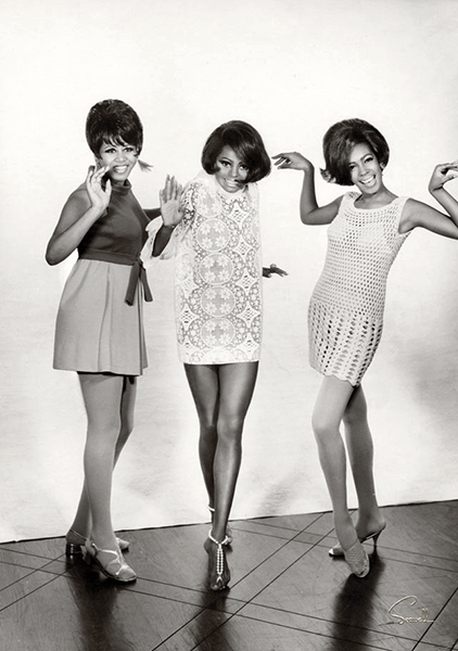 Cindy Birdsong, Diana Ross and Mary Wilson The Supremes - 1967 (Bizarre Los Angeles)