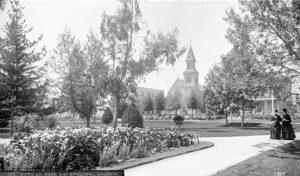 Sixth Street Park Los Angeles 1888