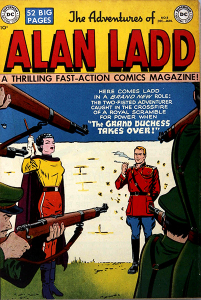 The Adventures of Alan Ladd comic book
