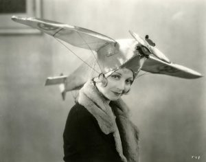 Alice White Airplane Hat