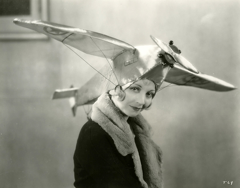 Alice White Airplane Hat
