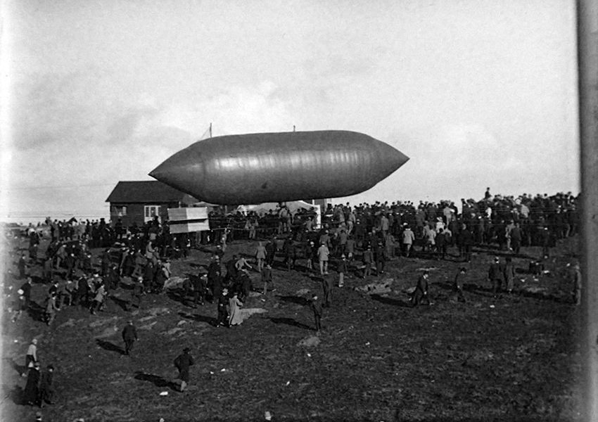 Dirigible Los Angeles 1910 Air Meet
