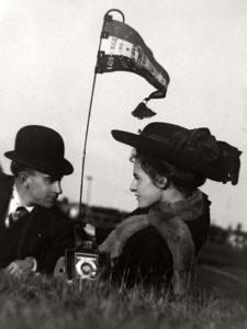 Romantic Moment 1910 Los Angeles International Air Meet