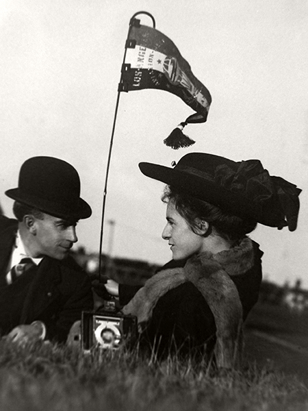 Romantic Moment 1910 Los Angeles International Air Meet