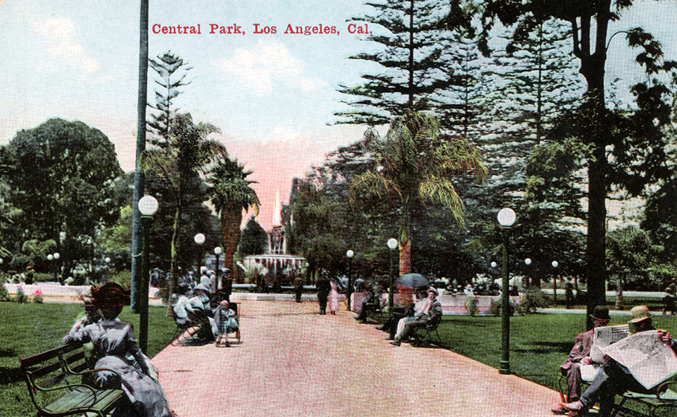 Central Park Pershing Square