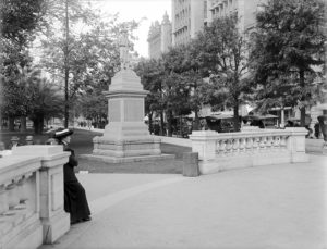 central park Pershing Square 1912